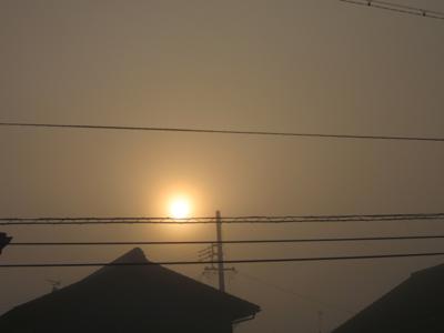 霧の朝 2